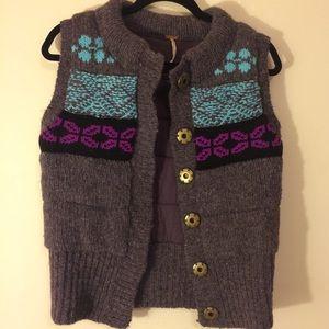 🌺🌺 Free People Chunky Knit Vest
